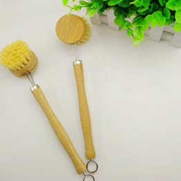 JMBamboo Hot Sale Kitchen Bamboo dish brush with replacement head