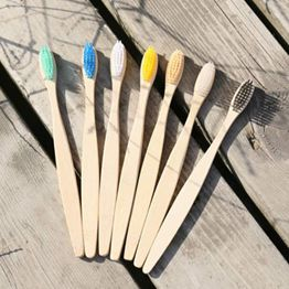 Eco friendly custom bamboo toothbrush hotel oem bamboo toothbrush