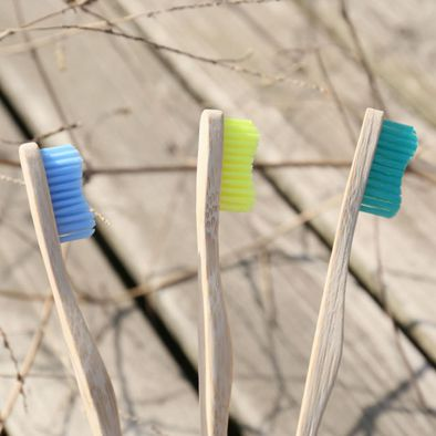 OEM & ODM Bamboo toothbrush Best Eco-Friendly biodegradable Bamboo Handles and BPA-Free