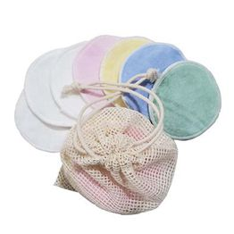 100% Bamboo Cotton Organic Washable Makeup Remover Cotton Pads